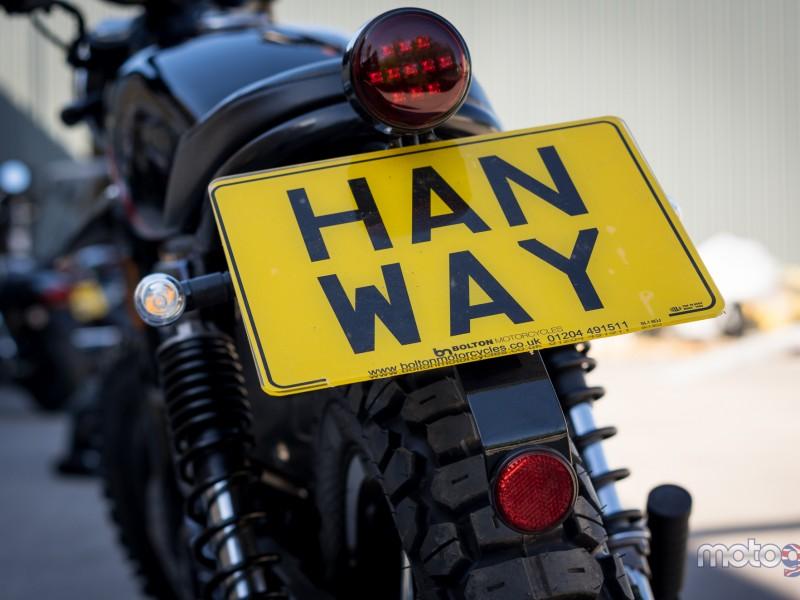 Hanway Scrambler 125 2019