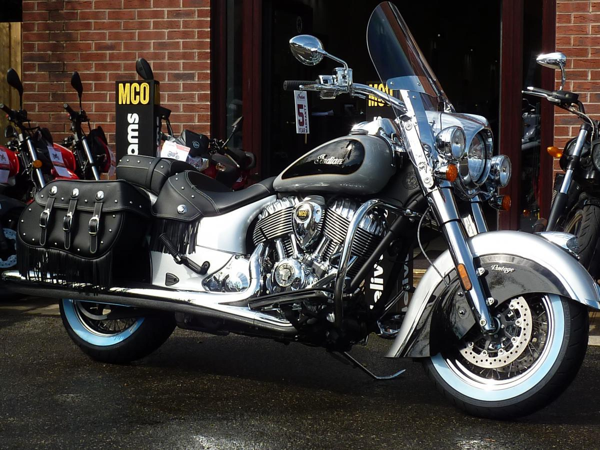 New Pre Registered 0 Miles with black leather £17999Indian Chief Vintage