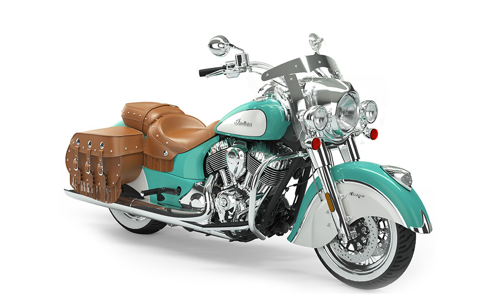 Icon Coastal Green/Pearl White Indian Chief Vintage