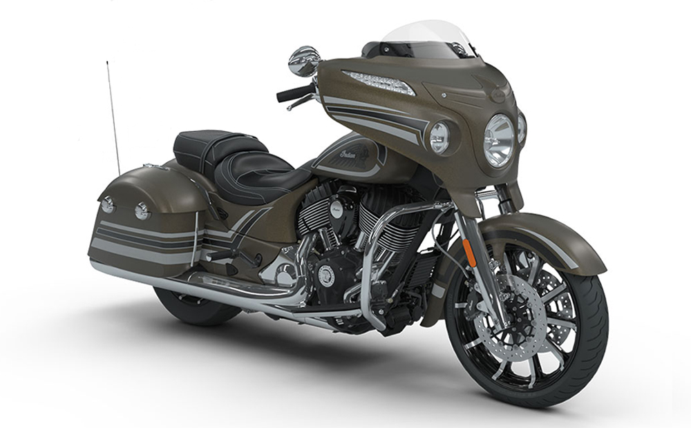 Bronze Smoke Graphic Chieftain Limited