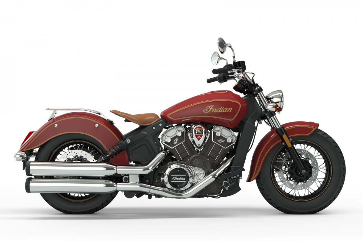 Indian Scout 100 Year Anniversary PRICE TBC