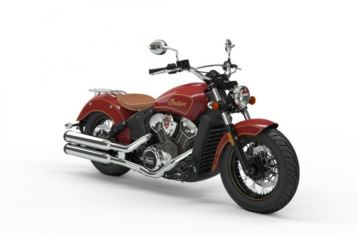 Indian Scout 100 Year Anniversary