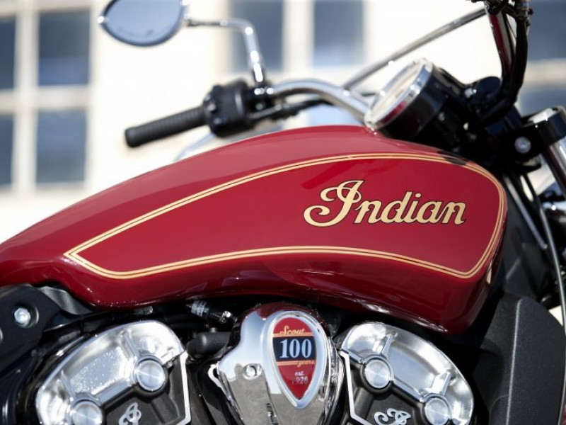 Indian Scout 100 Year Anniversary 2020