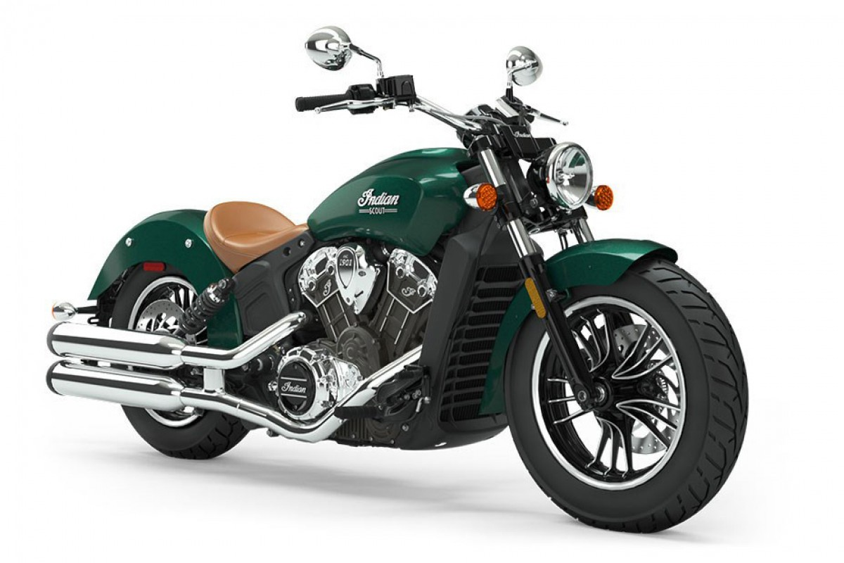 Metallic Jade Green Scout 1200
