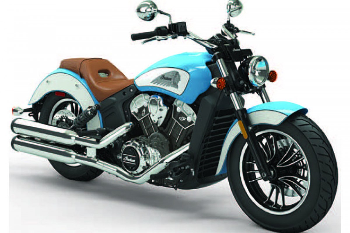 ICON sky blue/pearl white Scout 1200 Icon series