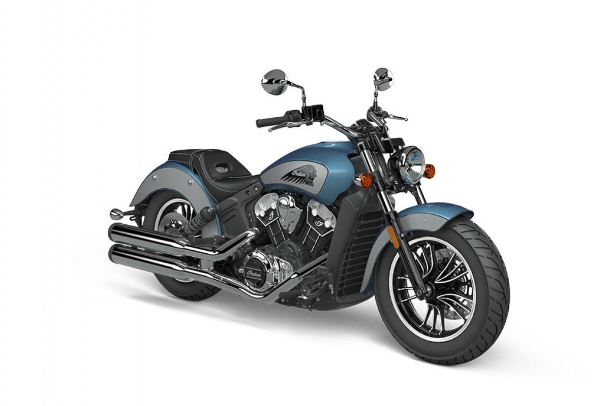 Blue Slate Metallic/Cobra Silver Scout 1200 2-Tone