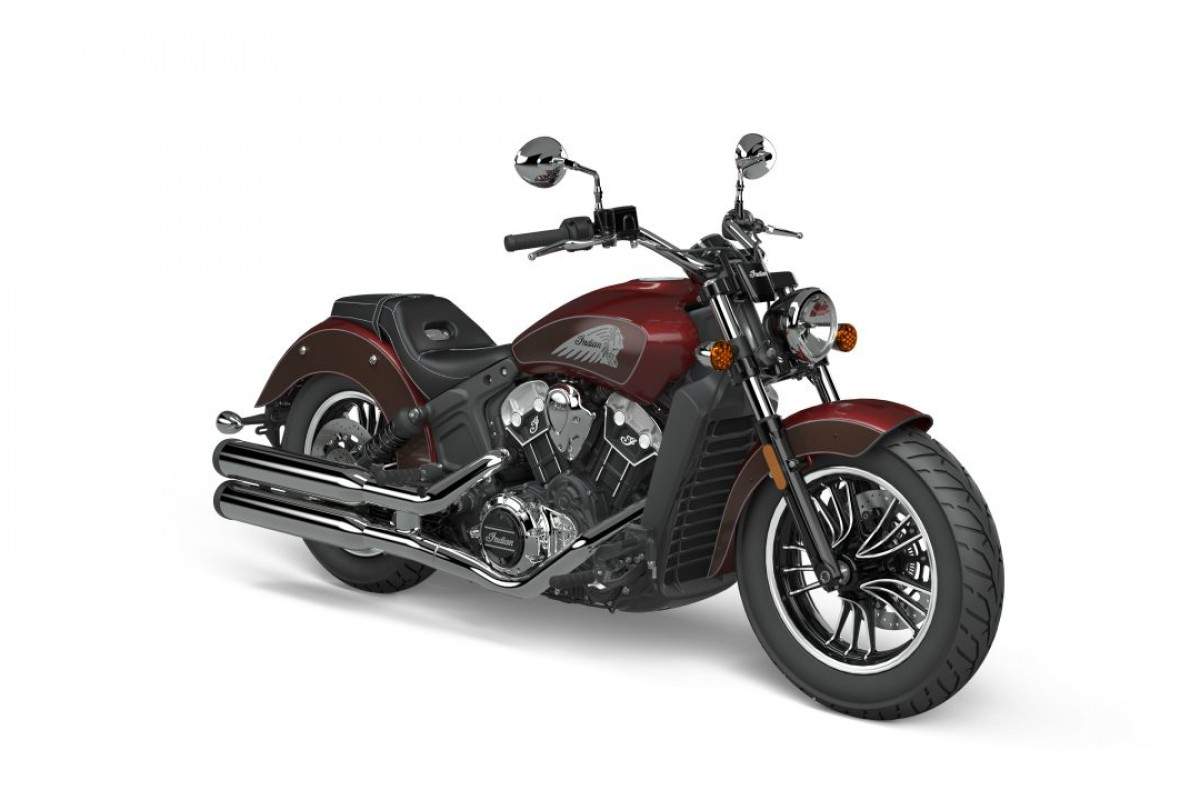 Maroon Metallic/Crimson Metallicsmoke Scout 1200 2-Tone