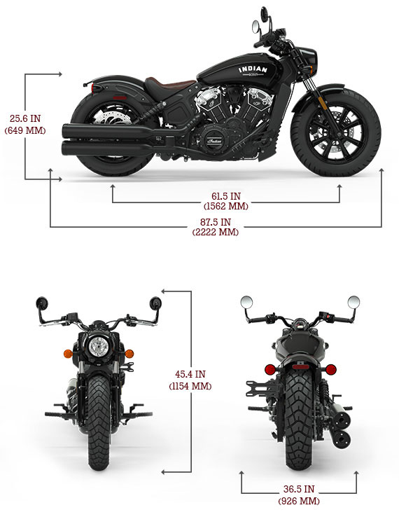 Dimensions Scout Bobber