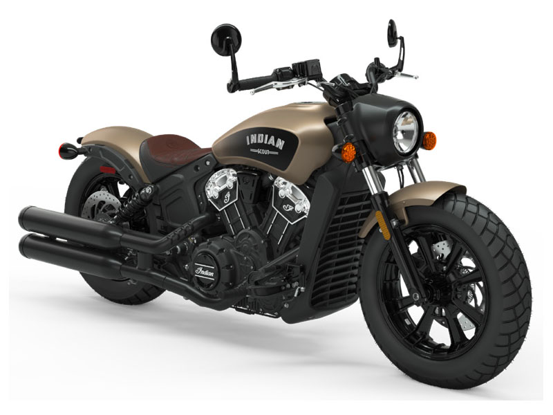 ICON Dep Brass smoke/Thunder black smoke Scout Bobber