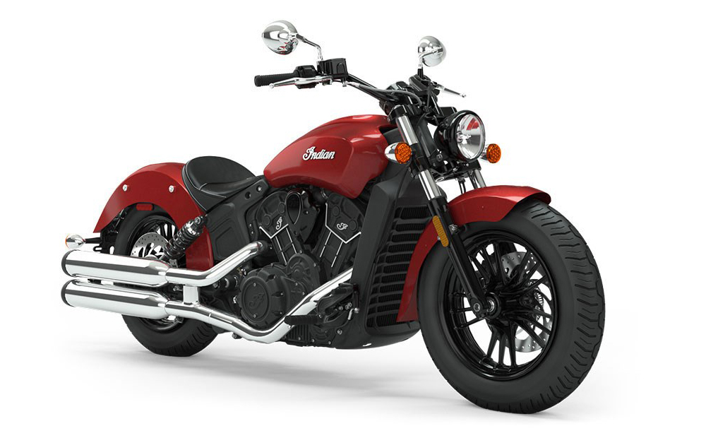 Ruby Metallic Indian Scout Sixty
