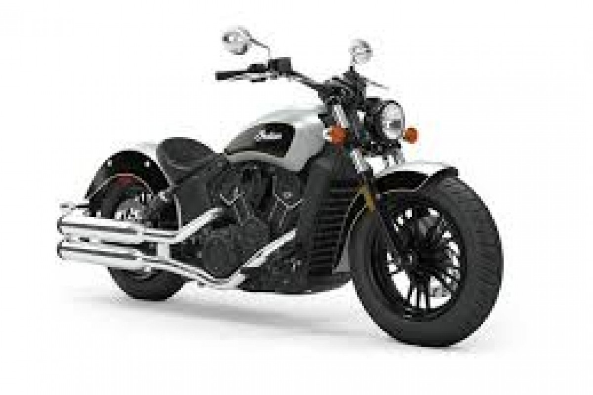 Star Silver/Thunder Black Indian Scout Sixty
