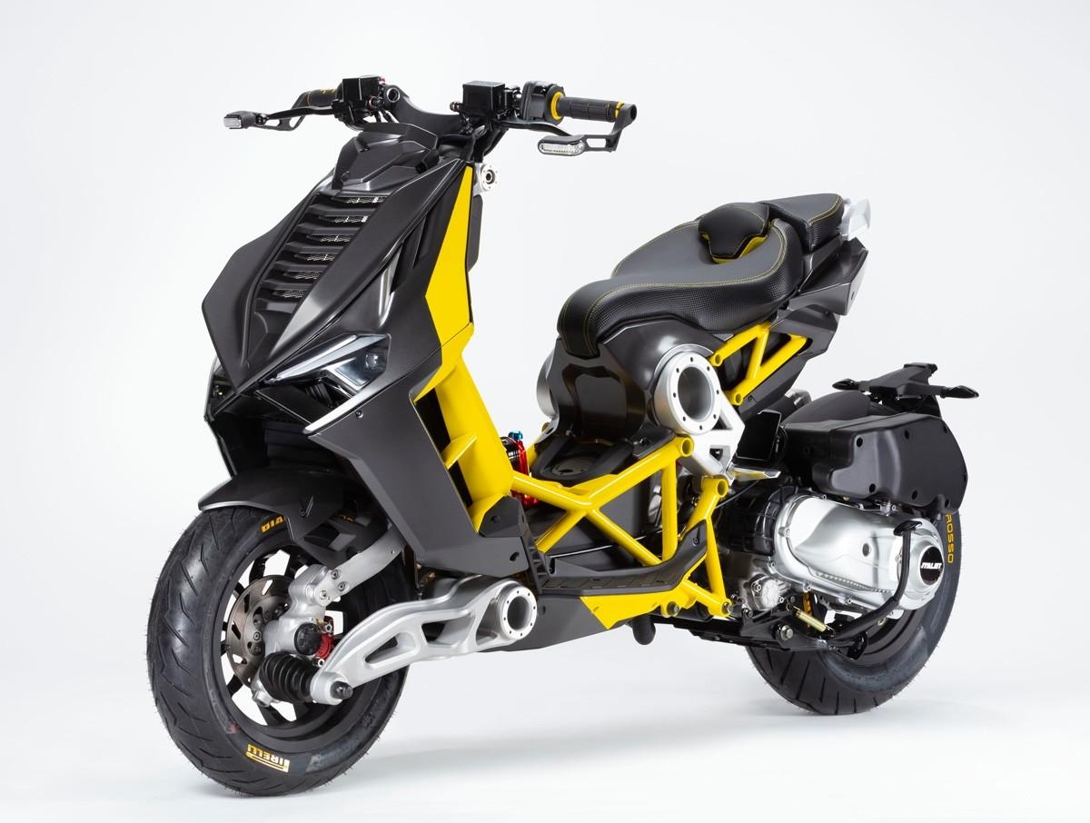 ItalJet Dragster Antracite/Yellow