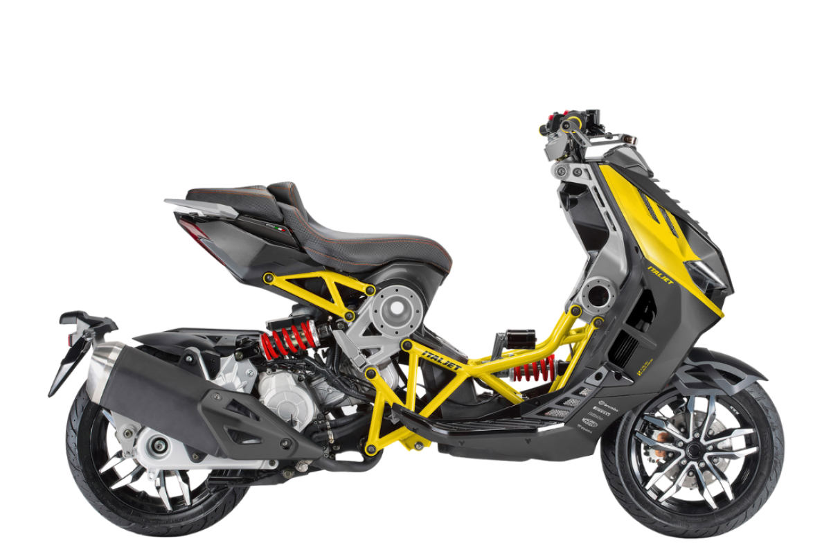 Anthracite/Yellow Dragster 200cc