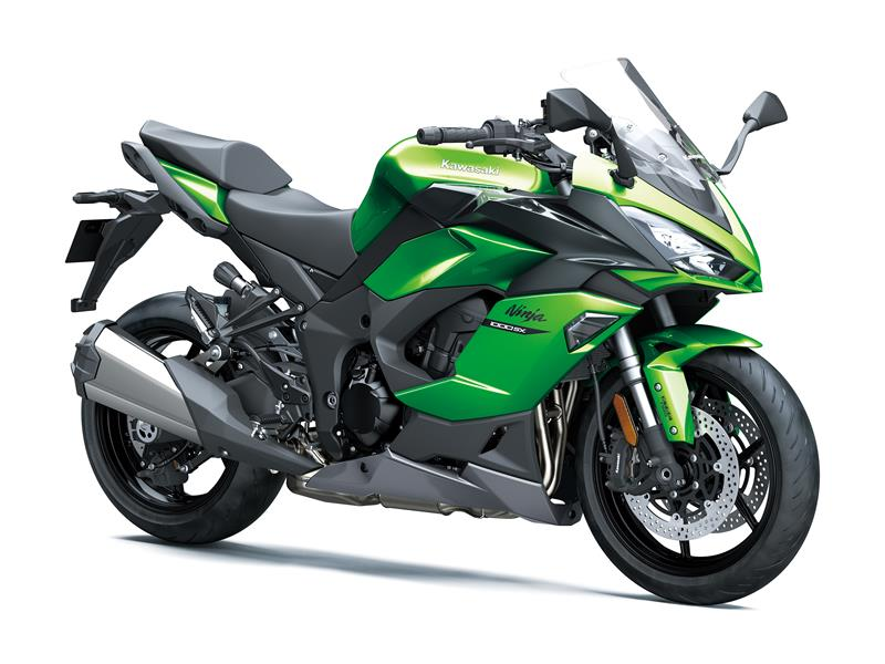 New Emerald Blazed Green / Metallic Carbon Grey / Metallic Graphite GreyKawasaki Ninja 1000SX