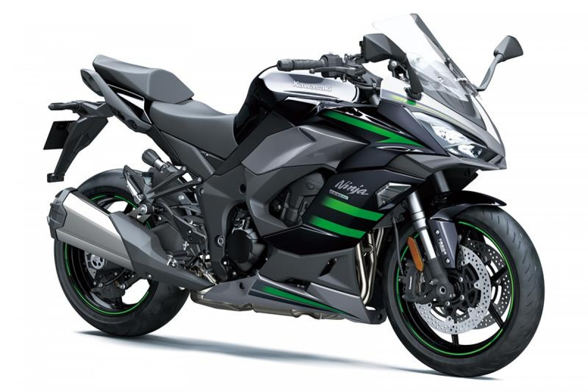Emerald Blazed Green / Metallic Carbon Grey / Metallic Graphite Grey Ninja 1000SX
