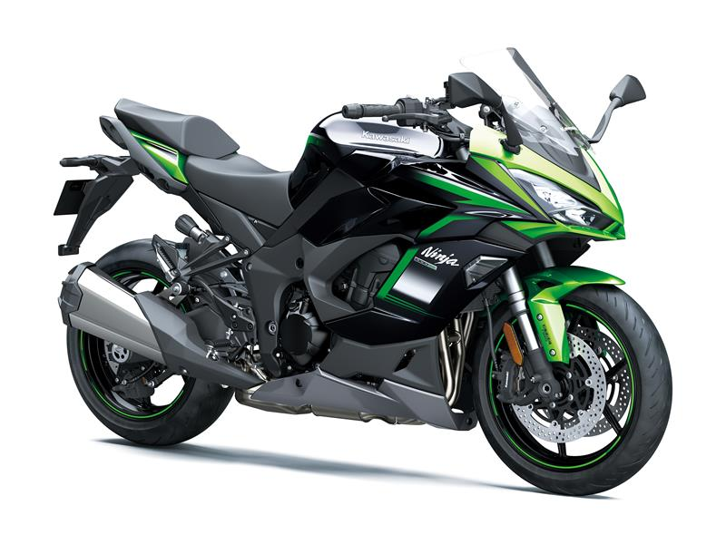 Emerald Blazed Green / Metallic Diablo Black / Metallic Graphite Grey Ninja 1000SX