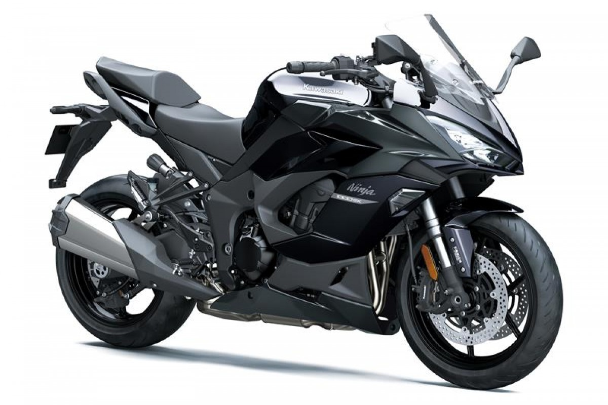 Metallic Carbon Grey / Metallic Diablo Black Ninja 1000SX ZX1002KFMFNN GY1