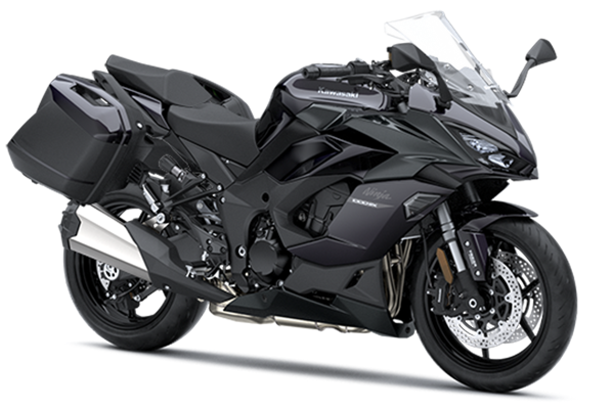 Metallic Carbon Grey / Metallic Diablo Black Ninja 1000SX Tourer