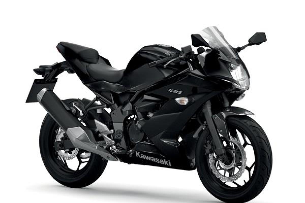 Metallic Spark Black / Metallic Flat Spark Black Ninja 125