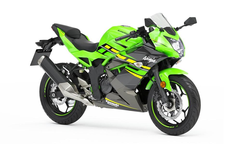 Lime Green Ninja 125