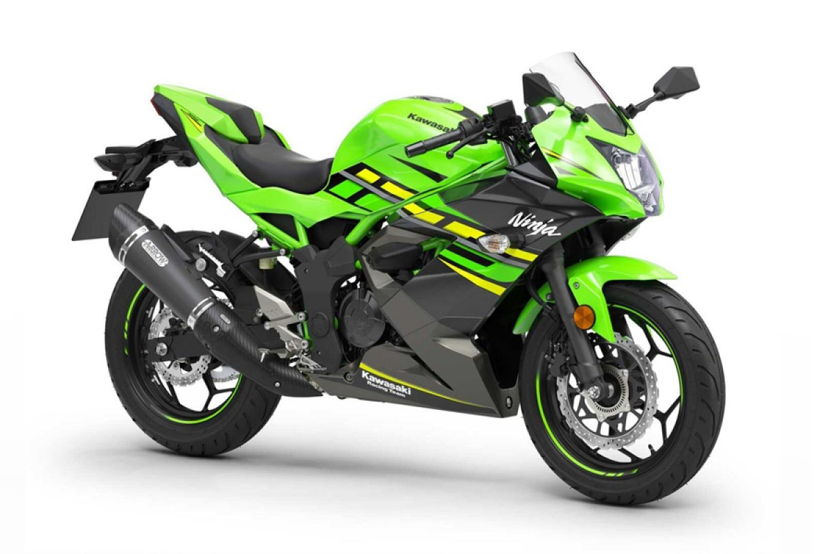Lime Green Ninja 125 Performance