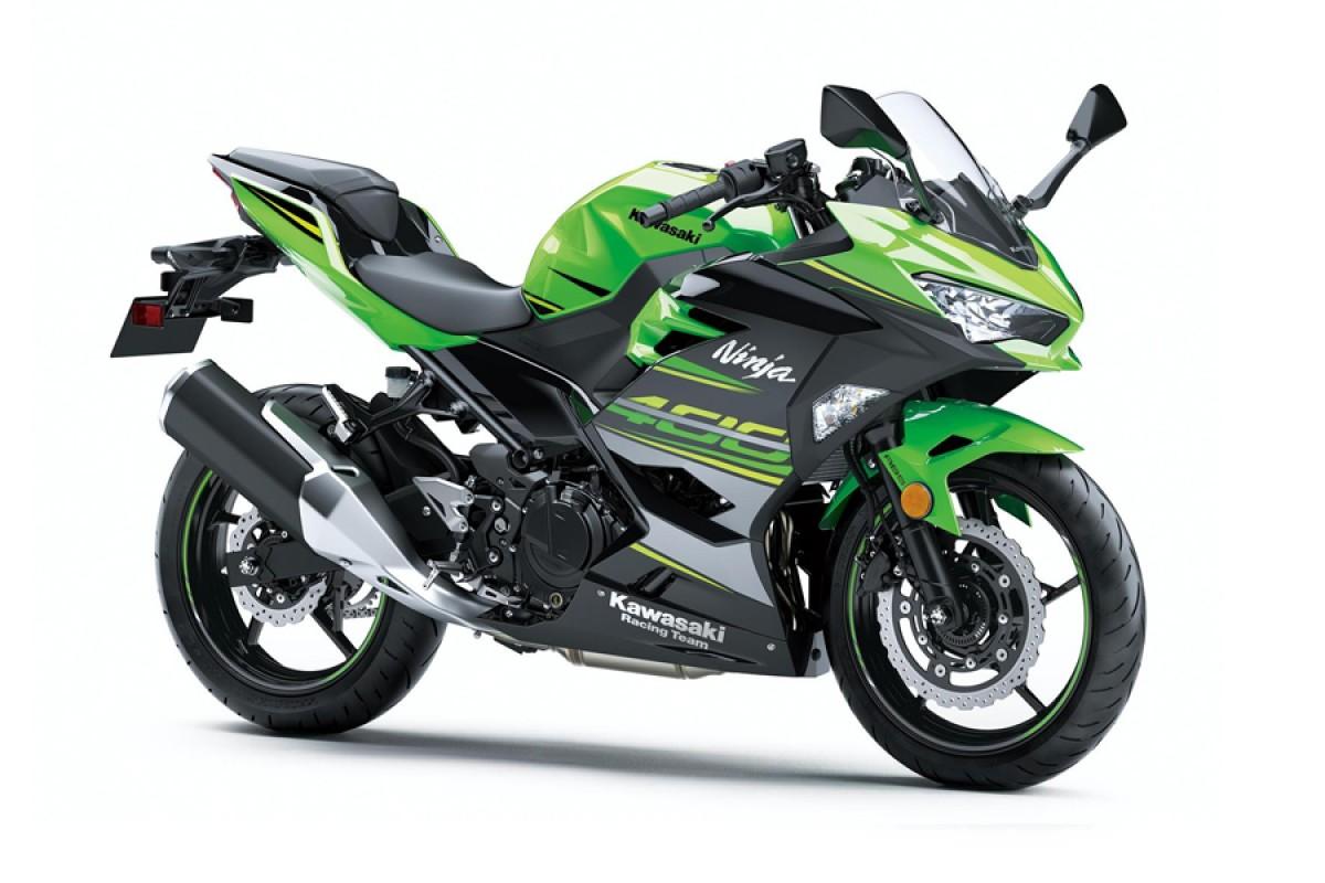 Lime Green Ninja 400 Pre reg 19