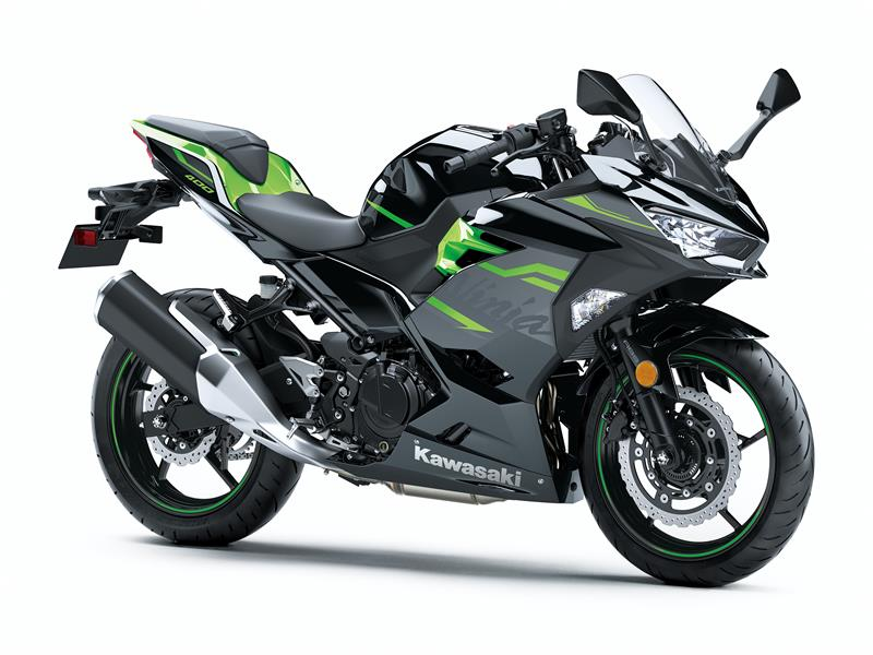 New Metallic Spark Blk/Lime Green EX400GLFAKawasaki Ninja 400