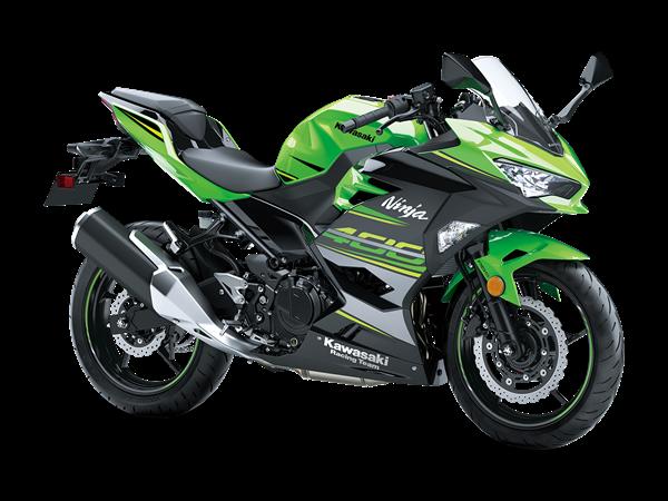 New Lime GreenKawasaki Ninja 400 Performance