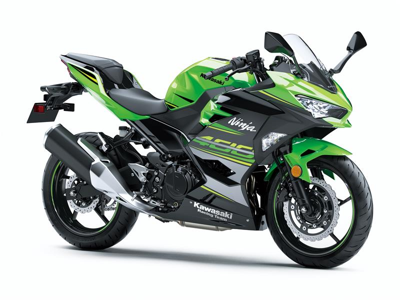 Lime Green KRT Ninja 400