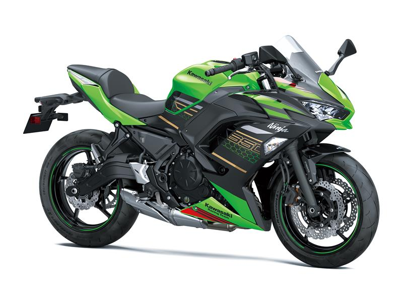 New Lime Green/EbonyKawasaki Ninja 650 KRT