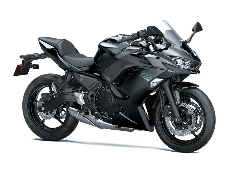 New Metallic spark blackKawasaki Ninja 650