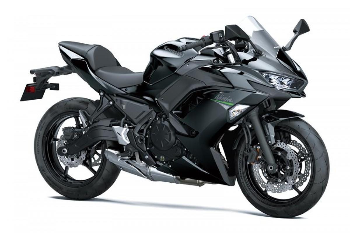 Metallic Spark Black Ninja 650 EX650MMFAN GN3