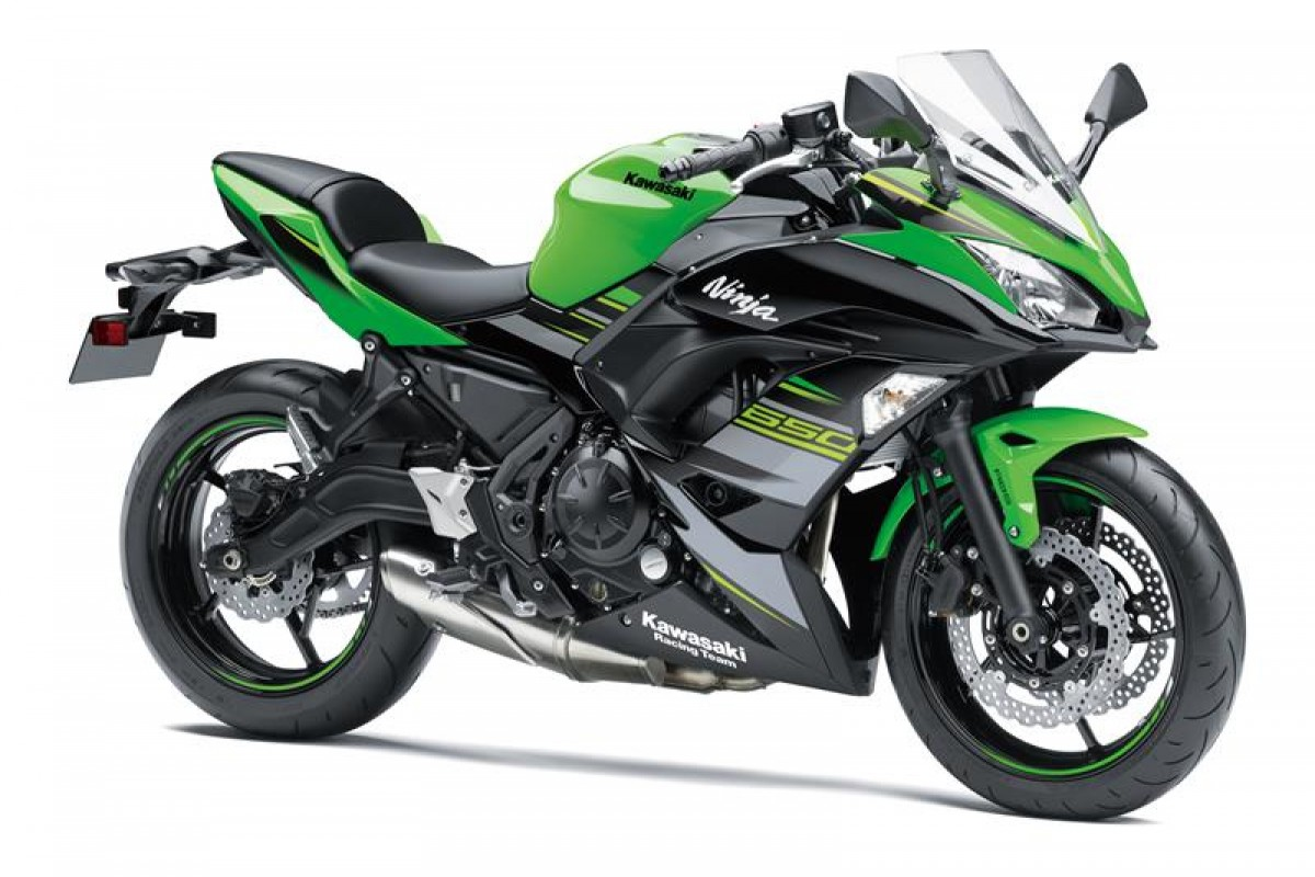 KRT Edition ( Lime Green / Ebony ) Ninja 650