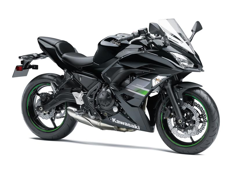 Metallic Flat Spark Black / Metallic Spark Black Ninja 650