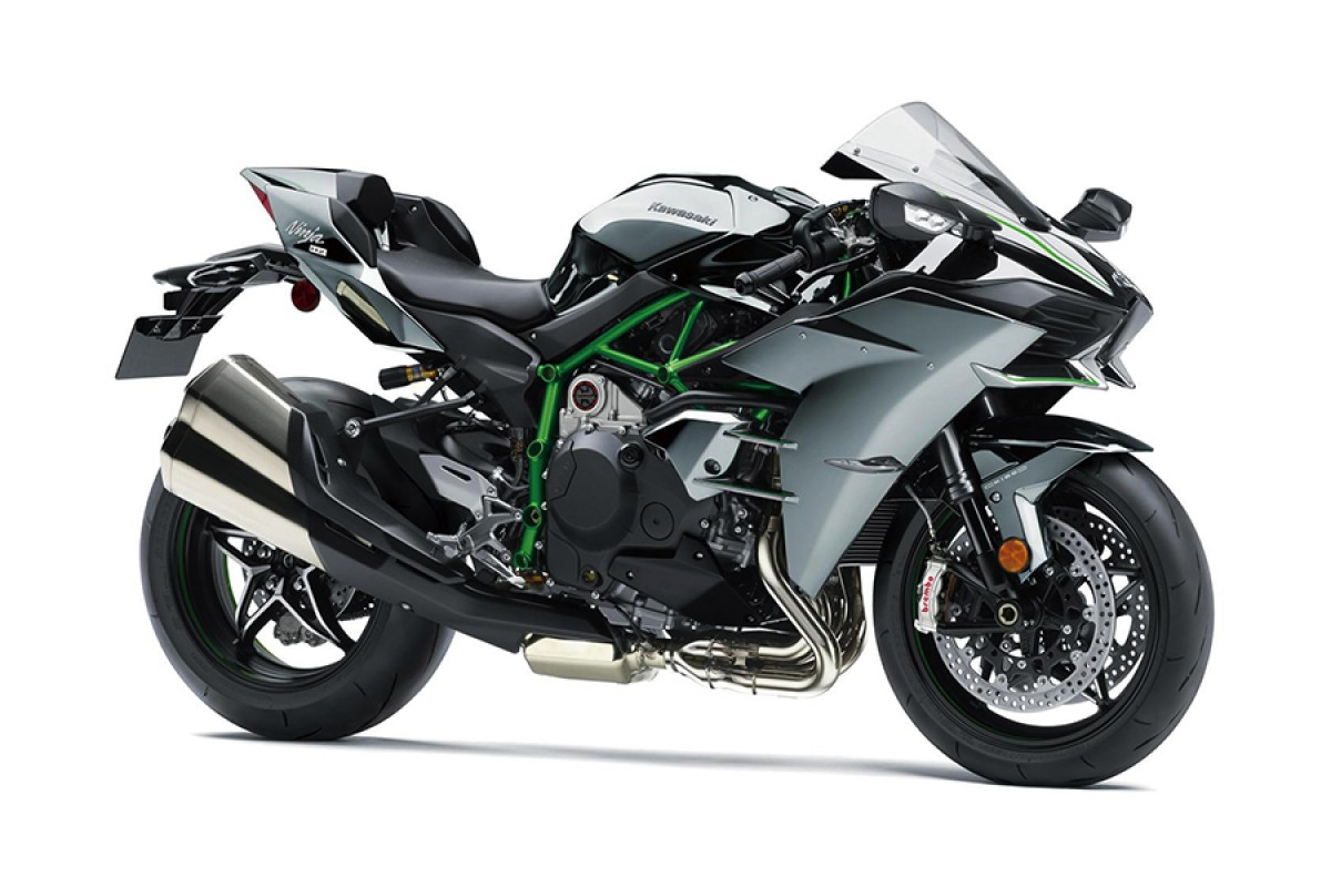 Mirror Coated Spark Black Ninja H2