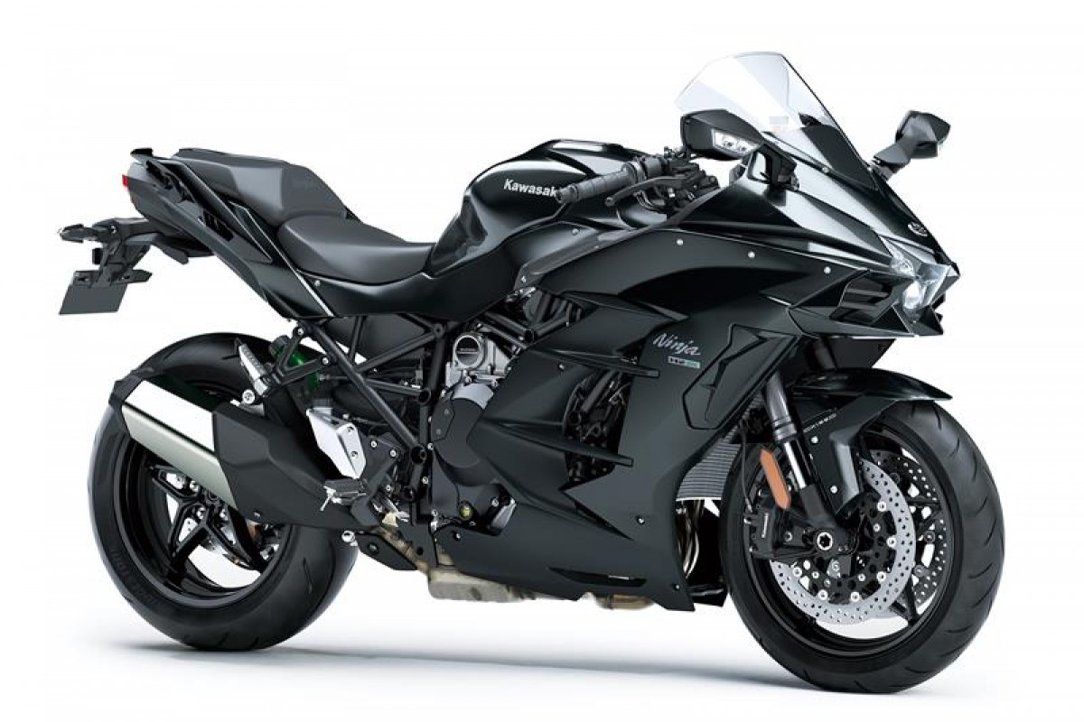 Metallic Carbon Grey / Metallic Matt Carbon Grey Ninja H2 SX