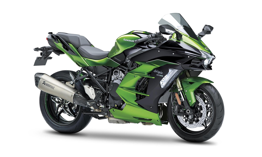 Emerald Blazed Green FREE PANNIERS Ninja H2 SX SE Performance 69 plate