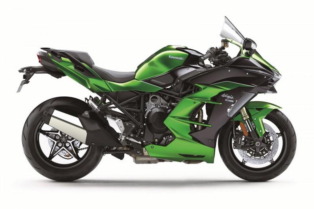 Kawasaki Ninja H2 SX SE Performance 69 plate