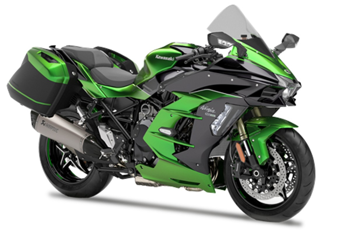 Emerald Blazed Green Ninja H2 SX SE Performance Tourer 69 plate