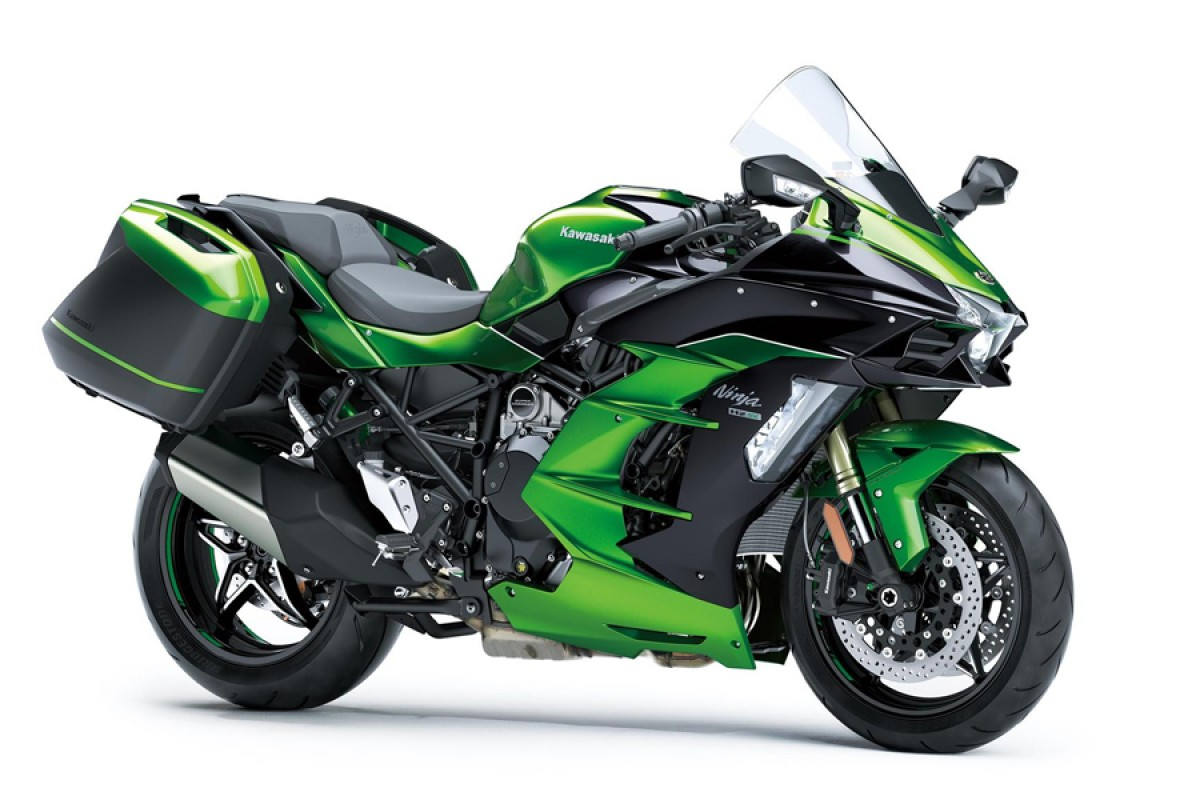 Emerald Blazed Green Ninja H2 SX SE