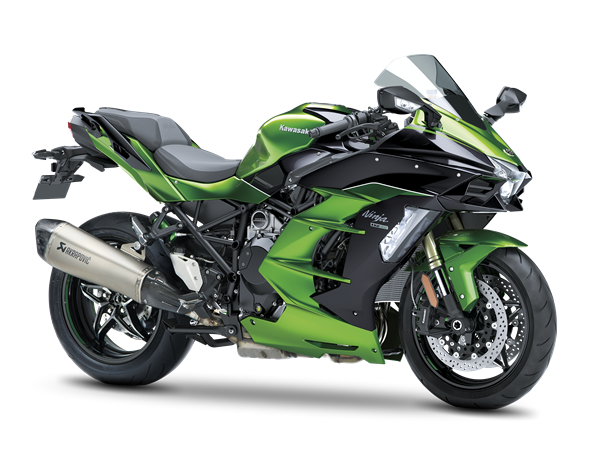 Emerald Blazed Green Performance Tourer Ninja H2 SX SE