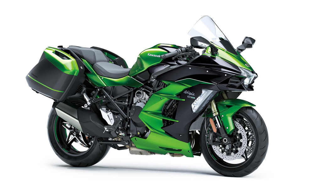 Emerald Blazed Green Ninja H2 SX SE