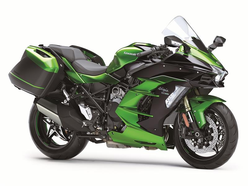 Emerald Blazed Green Tourer Ninja H2 SX SE