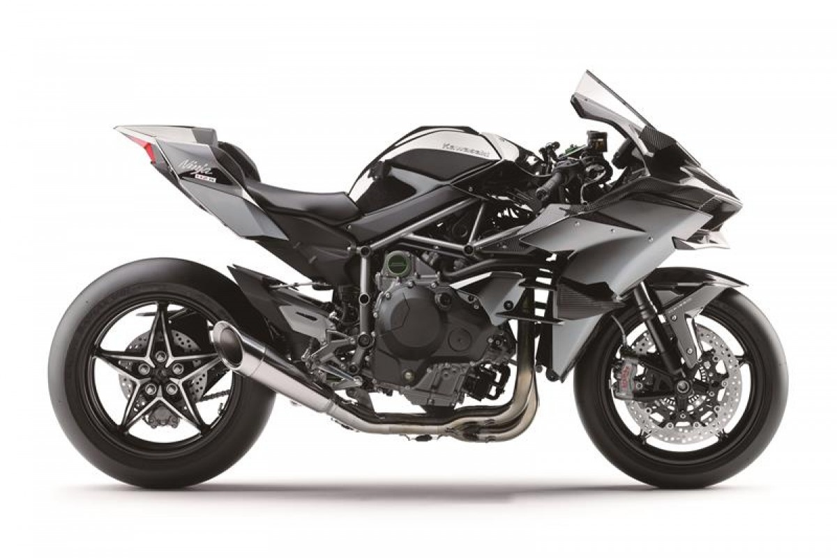 Kawasaki Supercharged Ninja H2R       (2016 model)