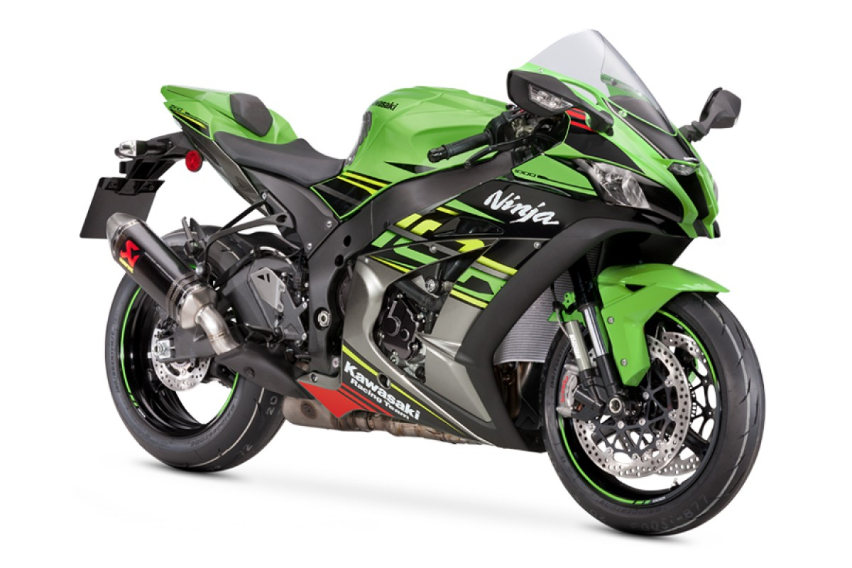 Lime Green Performance Ninja ZX-10R Performance