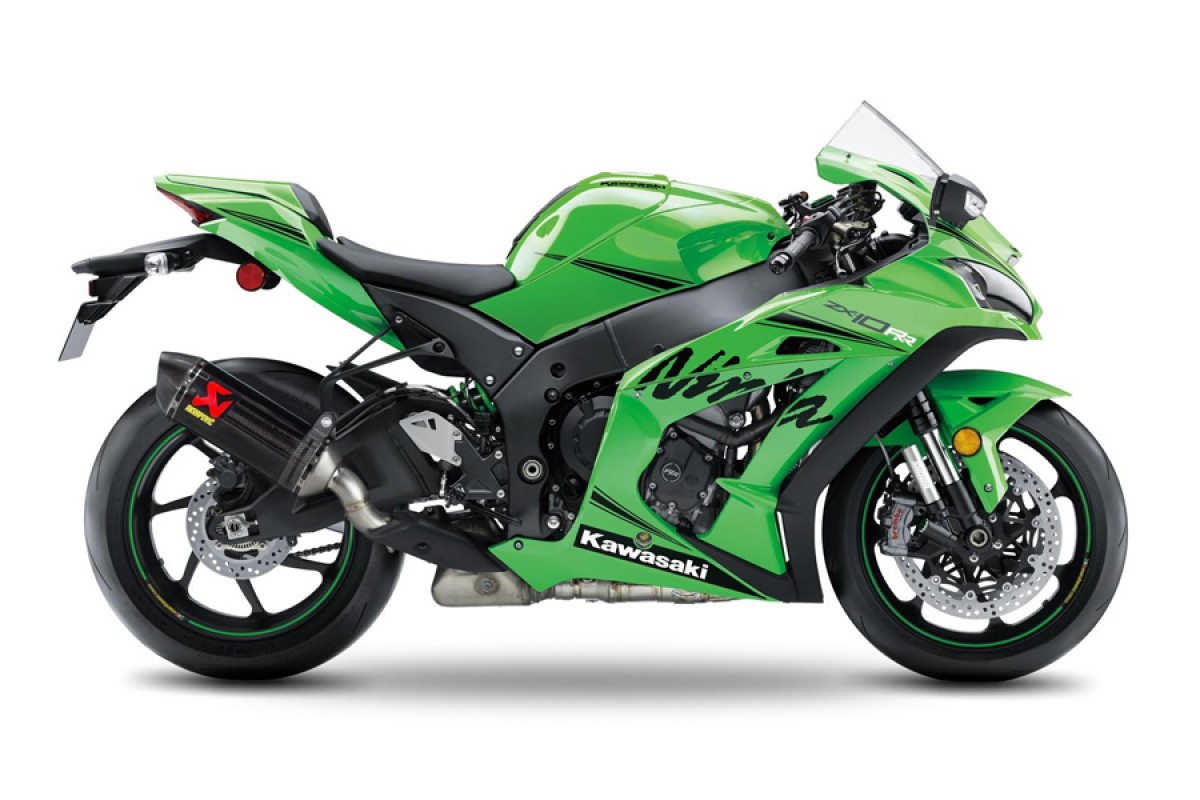 Lime Green Ninja ZX-10RR Performance