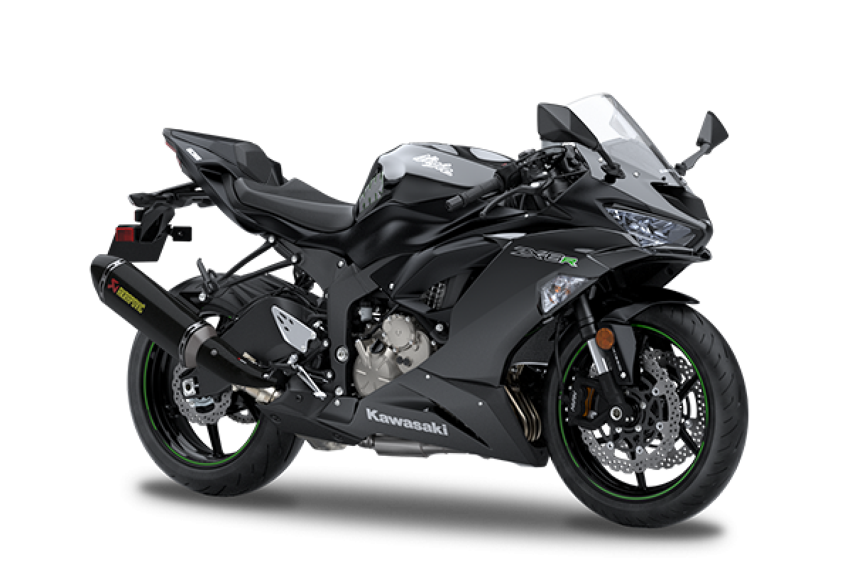 Metallic Flat Spark Black Performance edition extra £800 Ninja ZX-6R 636