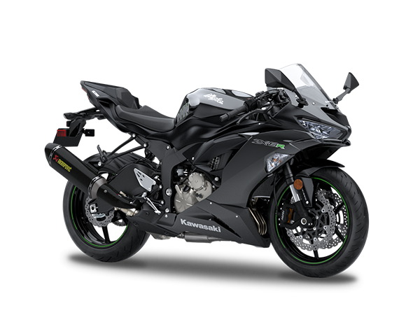 New Metallic Flat Spark Black Performance edition extra £800Kawasaki Ninja ZX-6R 636