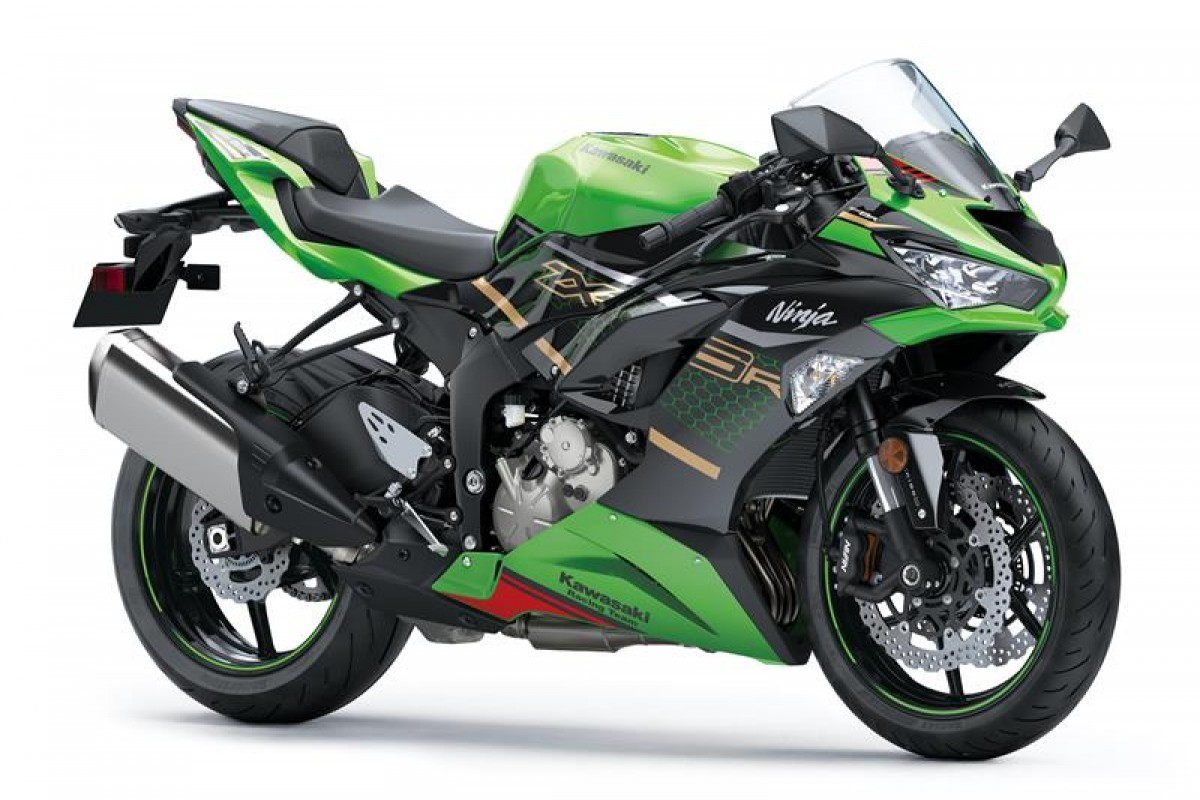 Lime Green / Ebony (KRT Edition) Ninja ZX-6R 636 KRT