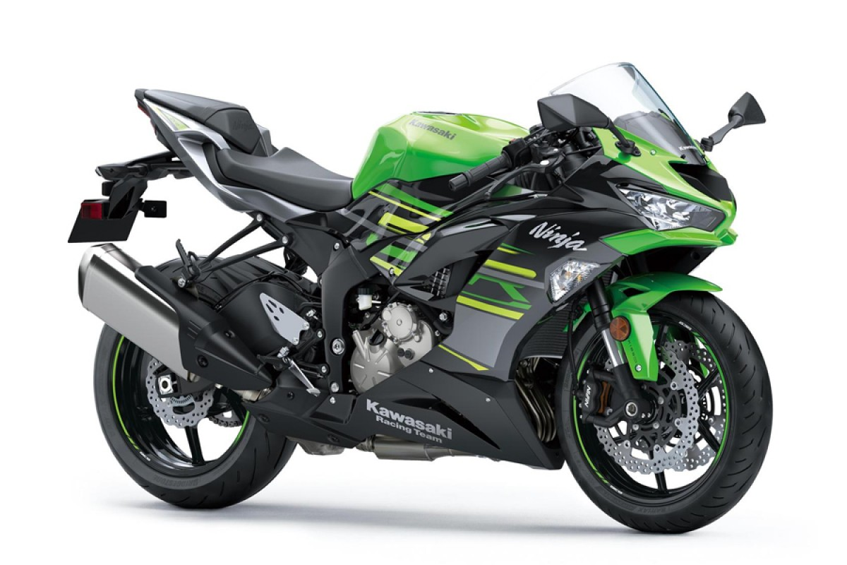 Lime Green Ninja ZX-6R 636 KRT